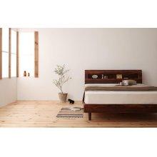他の写真3: 棚・コンセント付きデザインすのこベッド【Haagen】ハーゲン