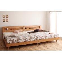 他の写真1: 棚・コンセント付きデザインすのこベッド【Haagen】ハーゲン