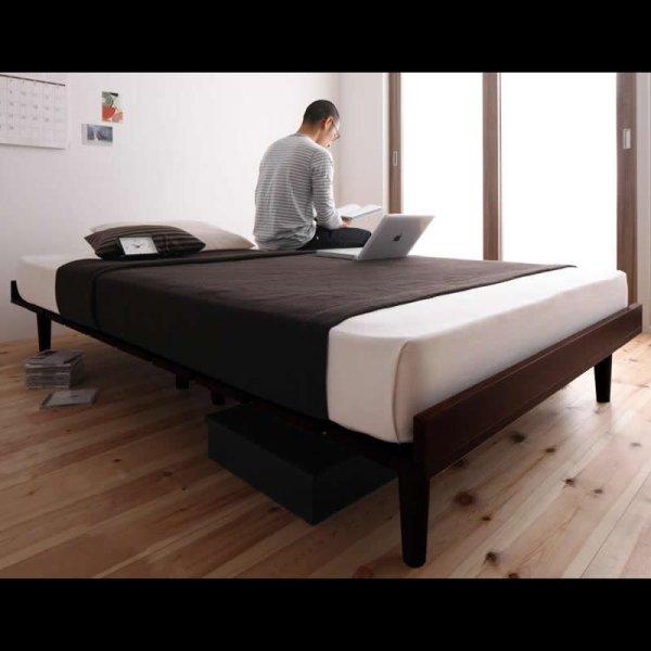 画像3: 布団も使える北欧デザインヘッドレスベッド【Kaleva】カレヴァ