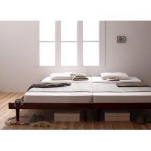 他の写真1: 布団も使える北欧デザインヘッドレスベッド【Kaleva】カレヴァ