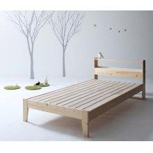 他の写真3: 北欧デザインコンセント付きすのこベッド【Stogen】ストーゲン