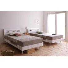 他の写真3: 棚・コンセント付きデザインすのこベッド【Alamode】アラモード