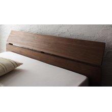 他の写真2: 天然木突板仕様:モダンデザインローベッド【Euras】ユウラス
