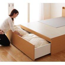 他の写真2: 組立設置サービス:日本製:布団が収納できるチェストベッド【Gloria】グローリア