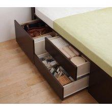 他の写真3: 組立設置サービス:日本製:布団が収納できるチェストベッド【Gloria】グローリア
