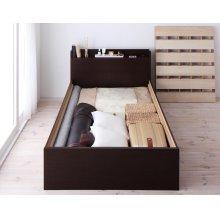他の写真1: 組立設置サービス:日本製:深さが選べる!大容量ベッド下収納付きすのこベッド
