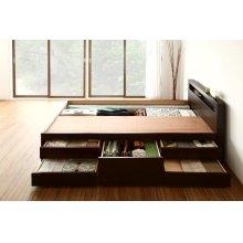 他の写真1: モダン&スリム棚付き畳チェストベッド