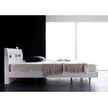 他の写真3: 鏡面光沢仕上げ モダンデザインすのこベッド【Degrace】ディ・グレース