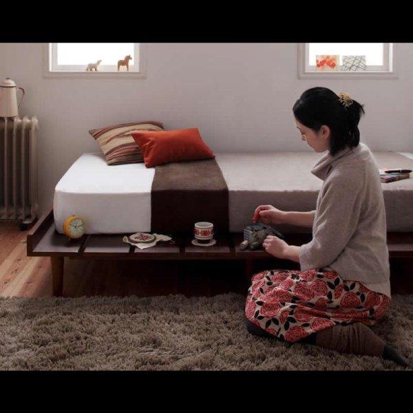 画像4: 布団も使える北欧デザインヘッドレスベッド【Kaleva】カレヴァ