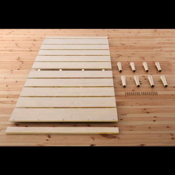 画像3: 布団も使える北欧デザインヘッドレスベッド【Noora】ノーラ