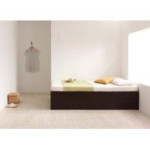 他の写真2: 組立設置サービス:日本製:大容量収納庫付きヘッドレスすのこベッド【O・S・V 】オーエスブイ