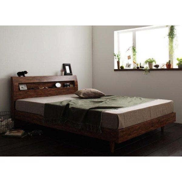 画像2: ヴィンテージデザインすのこベッド【Fredrik】フレドリック