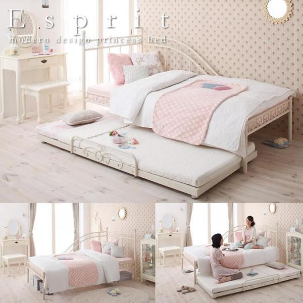 女の子・女性の方におすすめのベッドイメージ