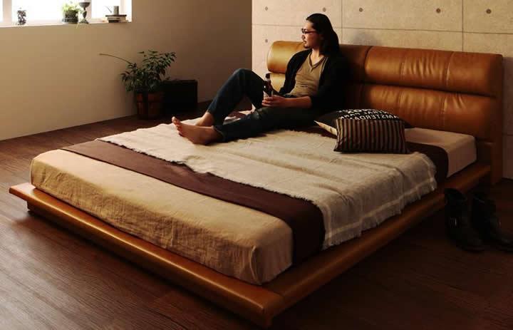 高さの低いベッドイメージ