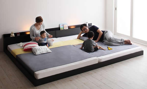 クイーンベッド:連結ベッドのイメージ