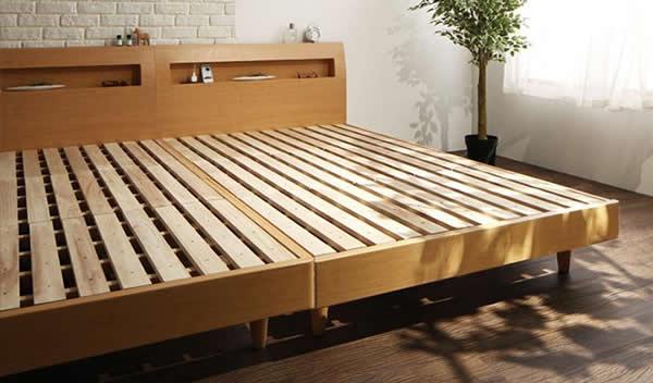 すのこベッド:脚付きタイプイメージ
