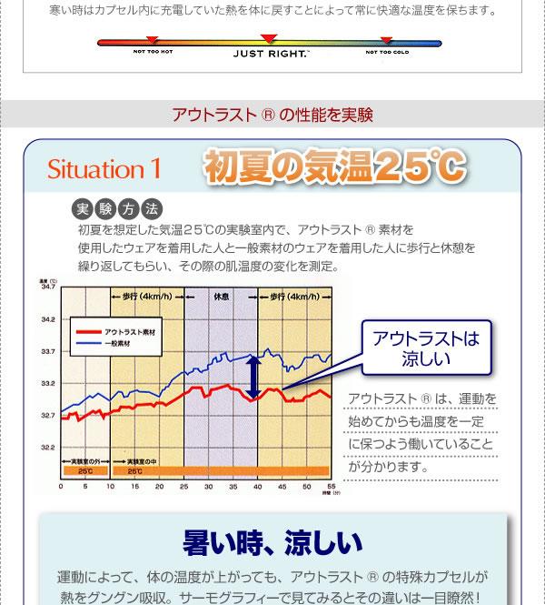 温度調整素材アウトラスト(R)シリーズ【IDEAL】アイディール イメージ4