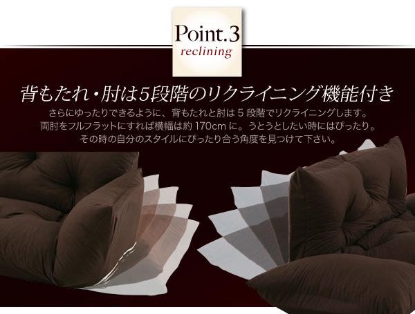 フロアカウチソファ【Anis】アニス 説明6