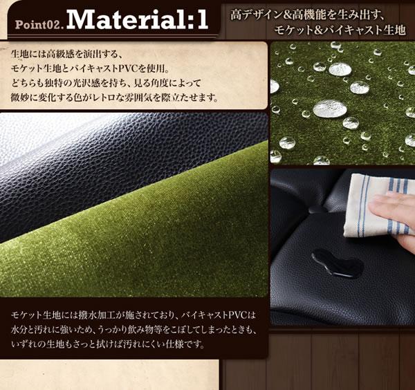ボタン留めデザイン木肘付きコーナーソファの激安通販