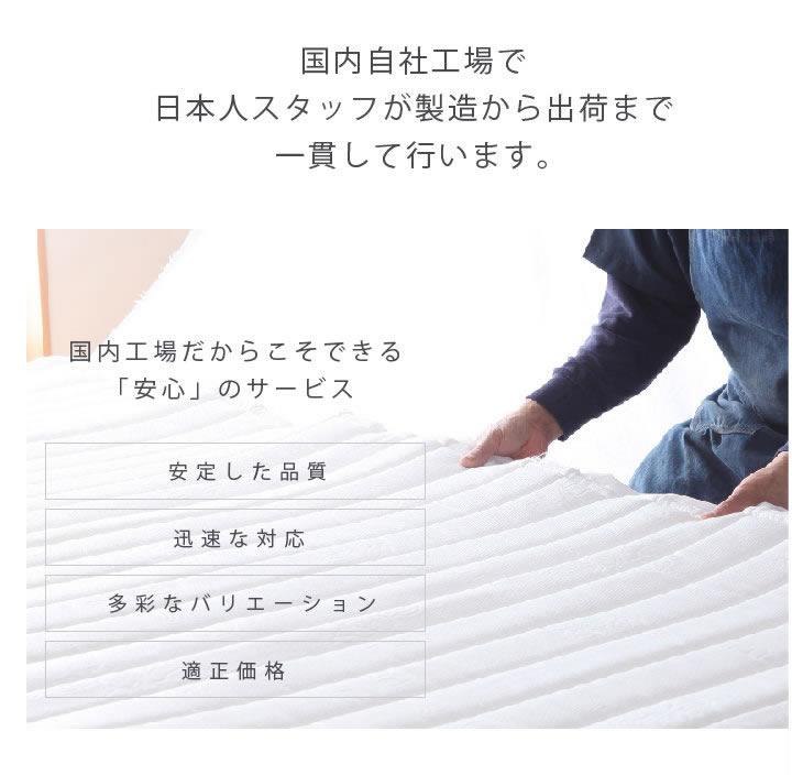 オール日本製:職人こだわりの照明付きガス圧式収納ベッド【Abelia】:国産ポケットコイル付きの激安通販
