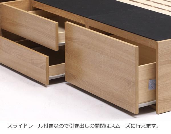 USBコンセント付き大容量収納チェスベッド【Mabel】 シングル限定を通販で激安販売