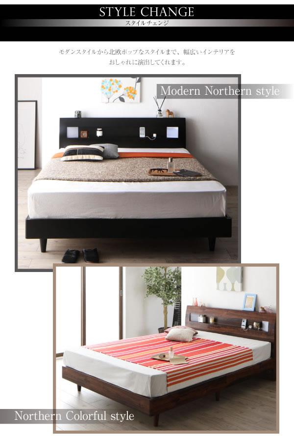 クイーンサイズ対応おしゃれデザイン北欧風すのこベッド【Letizia】レティーツァを通販で激安販売