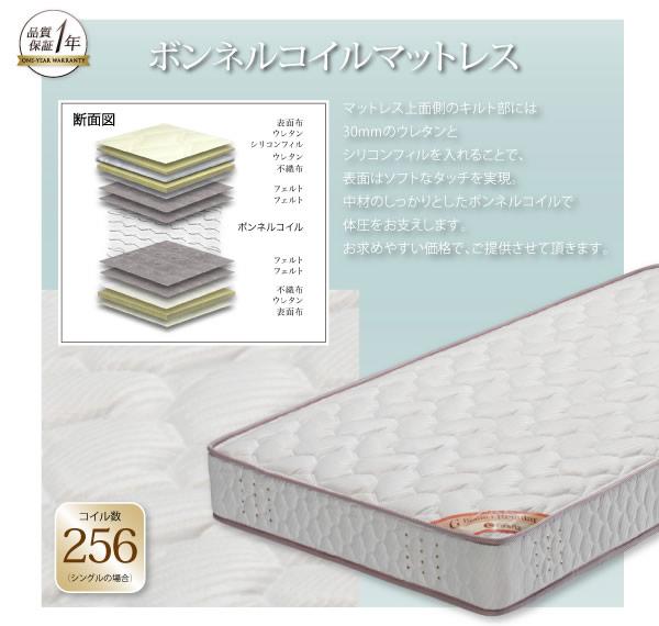 モダンデザインフロアベッド【siela】シエラ 激安通販12